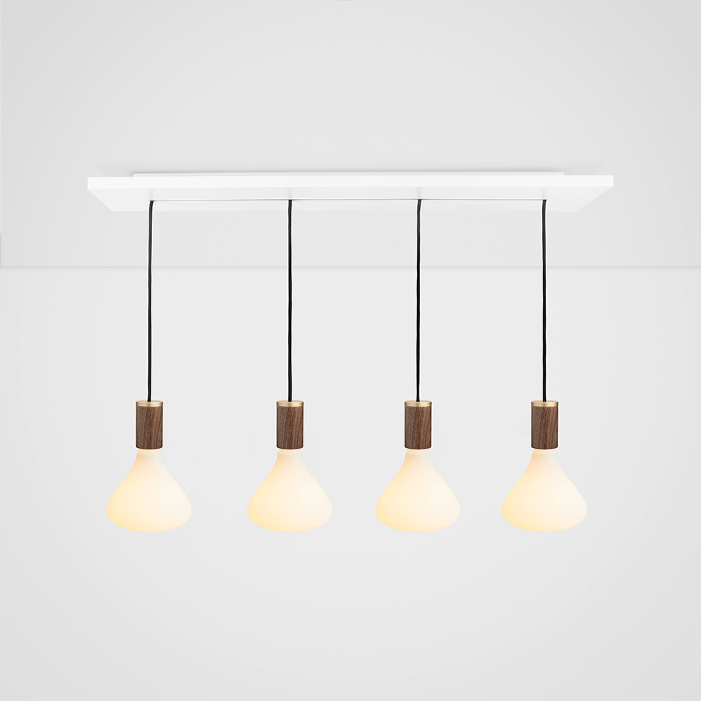 Noma walnut ceiling light sold out